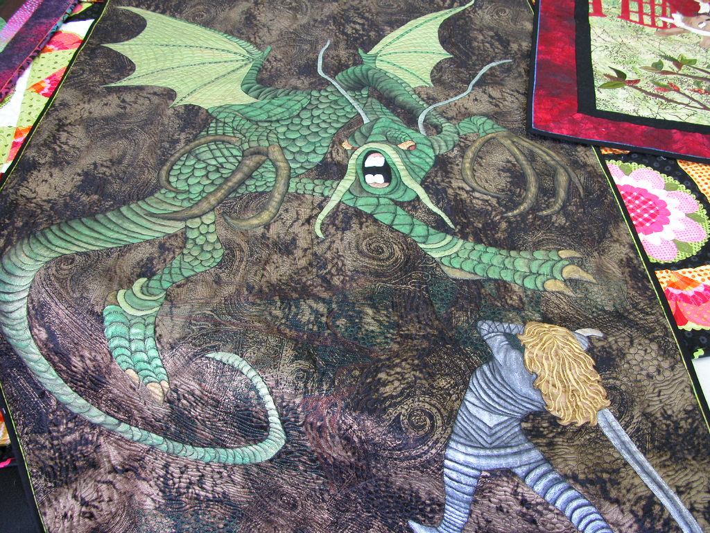 Pat Busby Alice in Wonderland quilts (2)