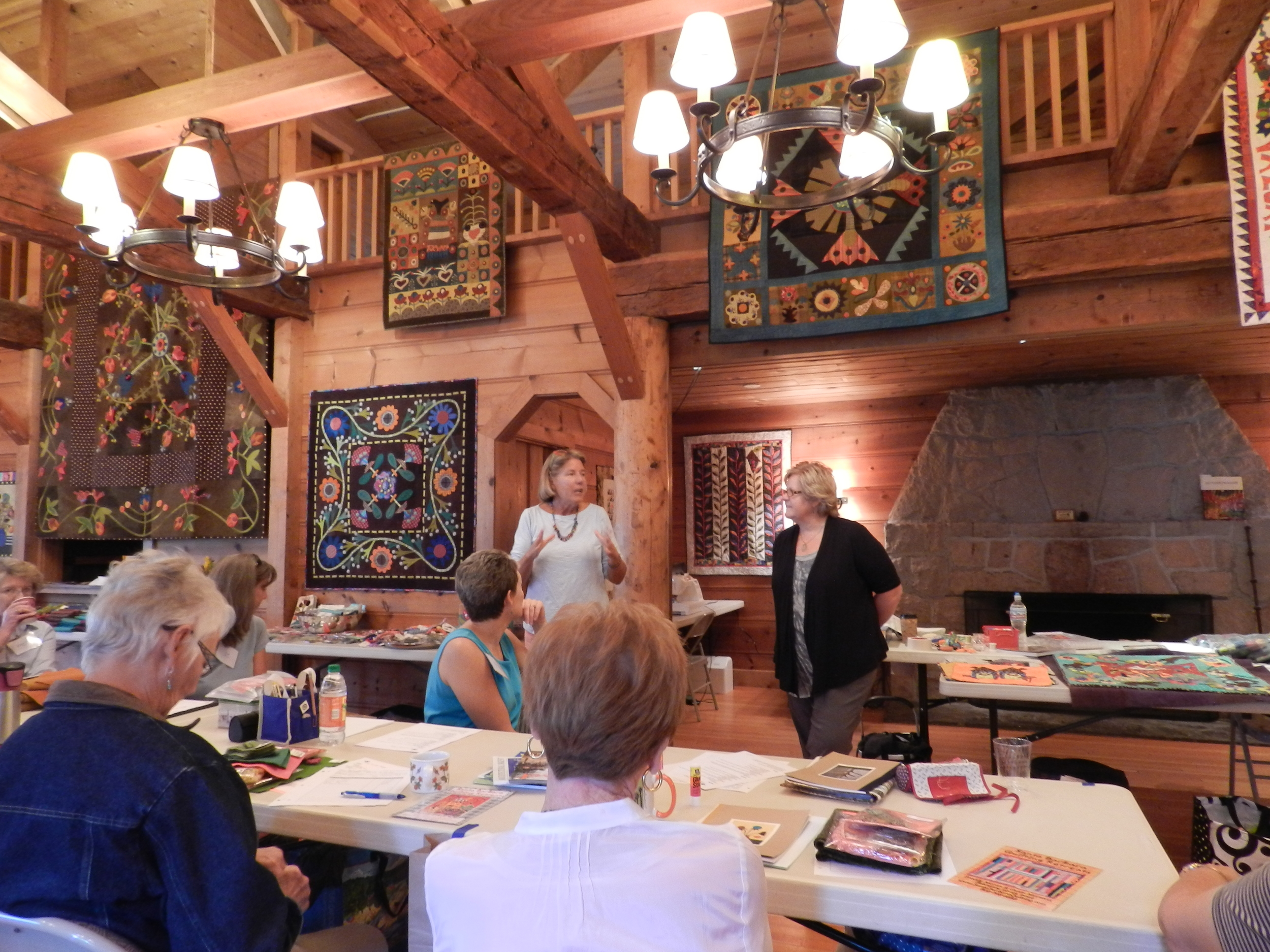 Folk Art Retreat with Tonye Phillips and Sue Spargo (1)