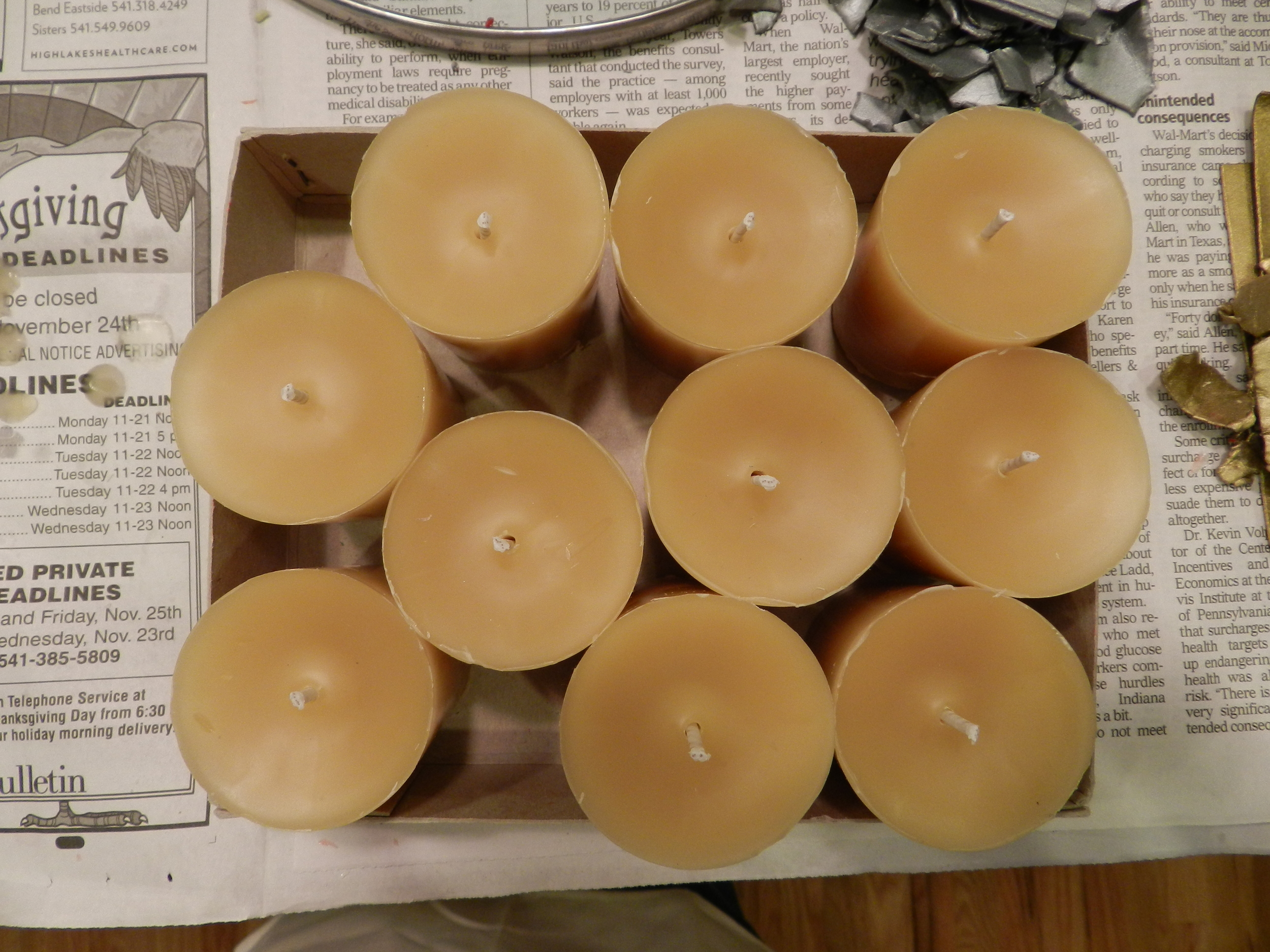 Candle making 002