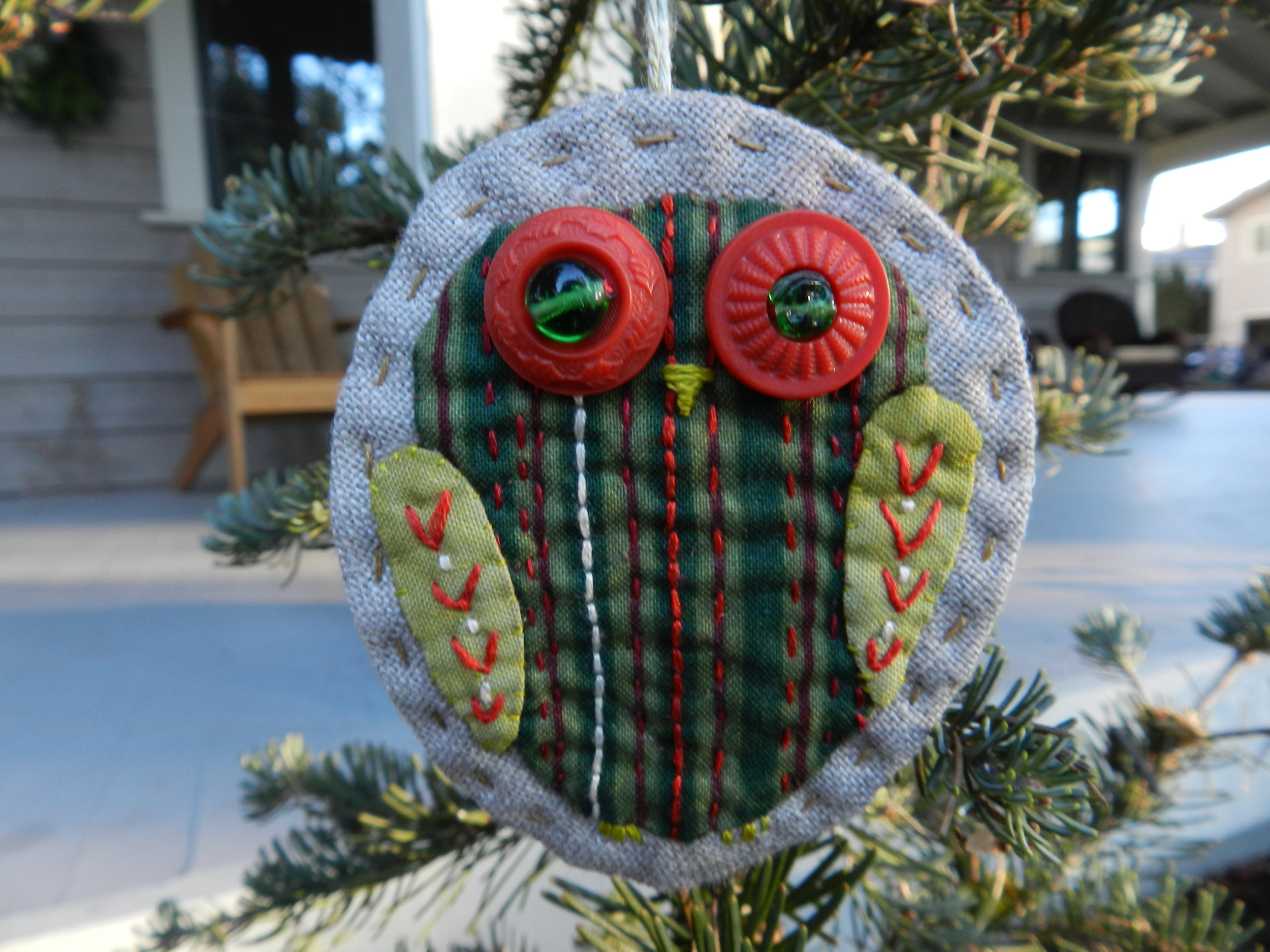 Owl Ornament (2)