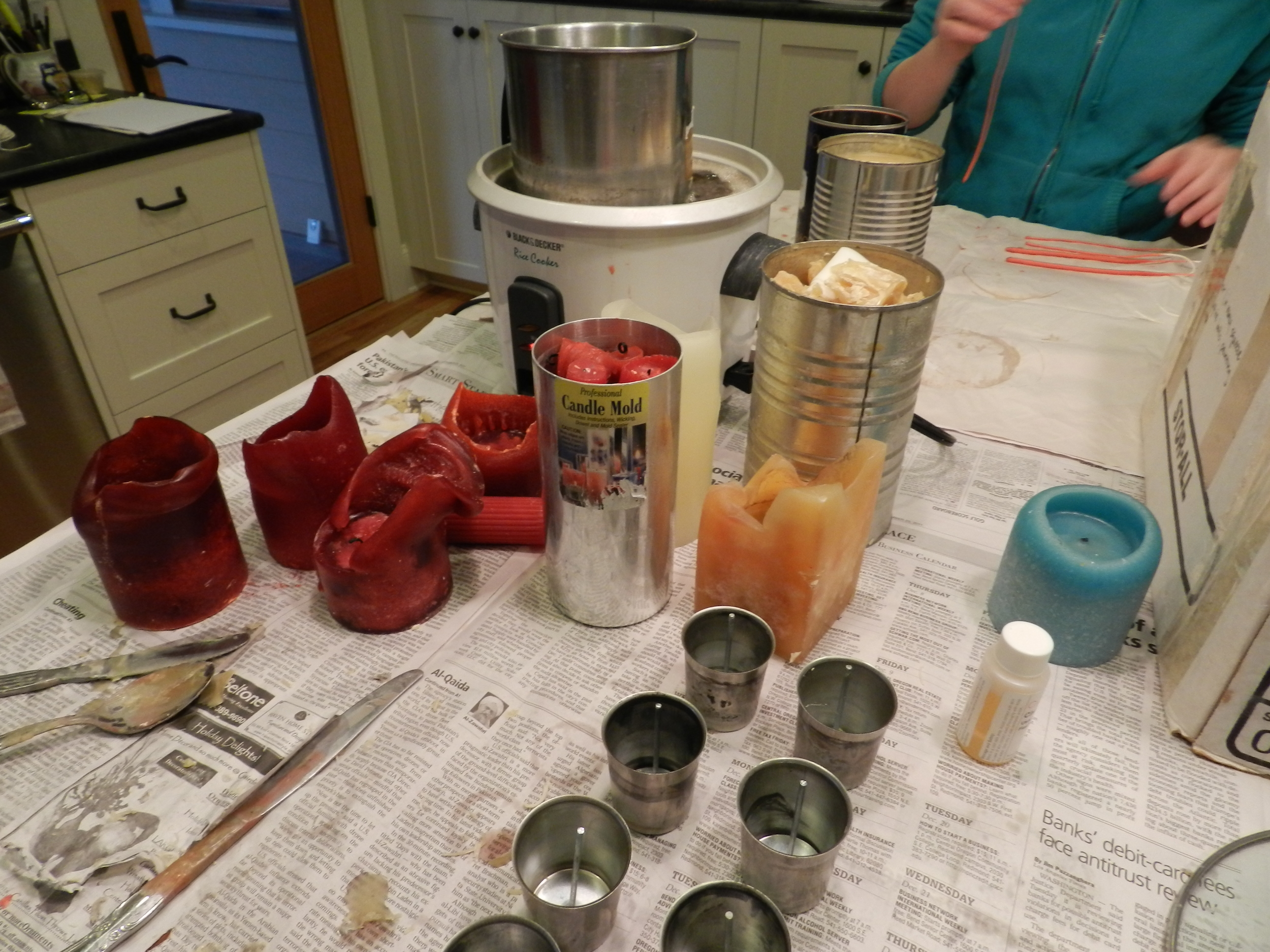 Candle making 003
