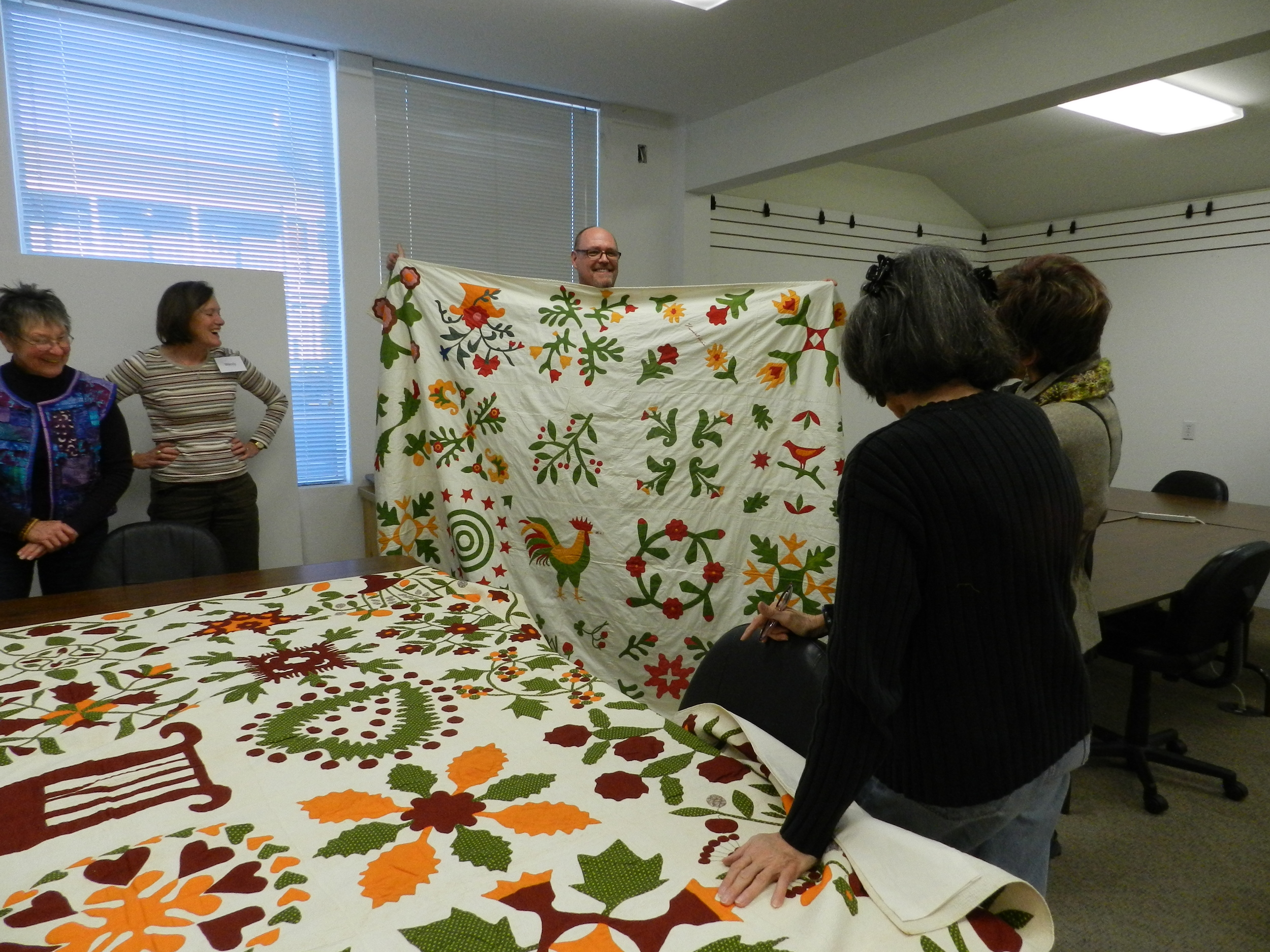 Bill Volkening's antique quilts (2)