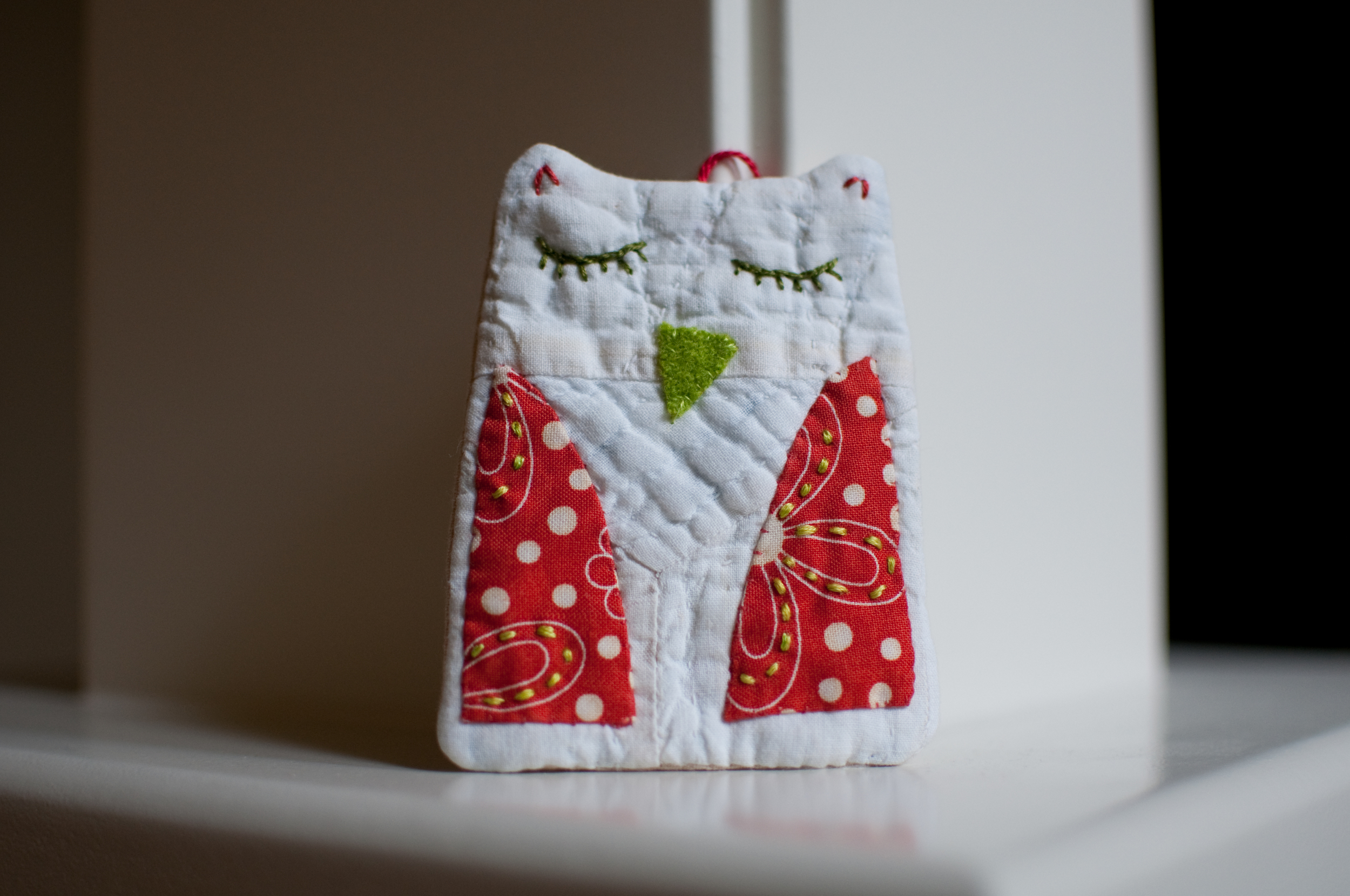 Owl Ornament 2012 (1)