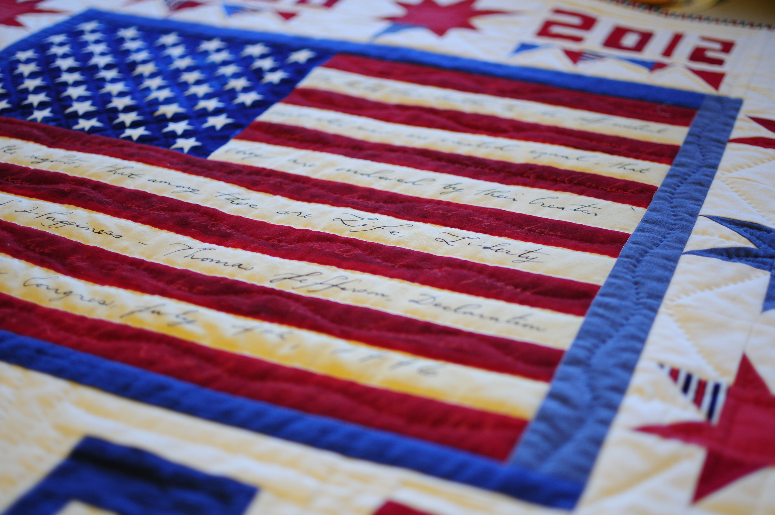 Obama Quilt on Inauguration Day (14)