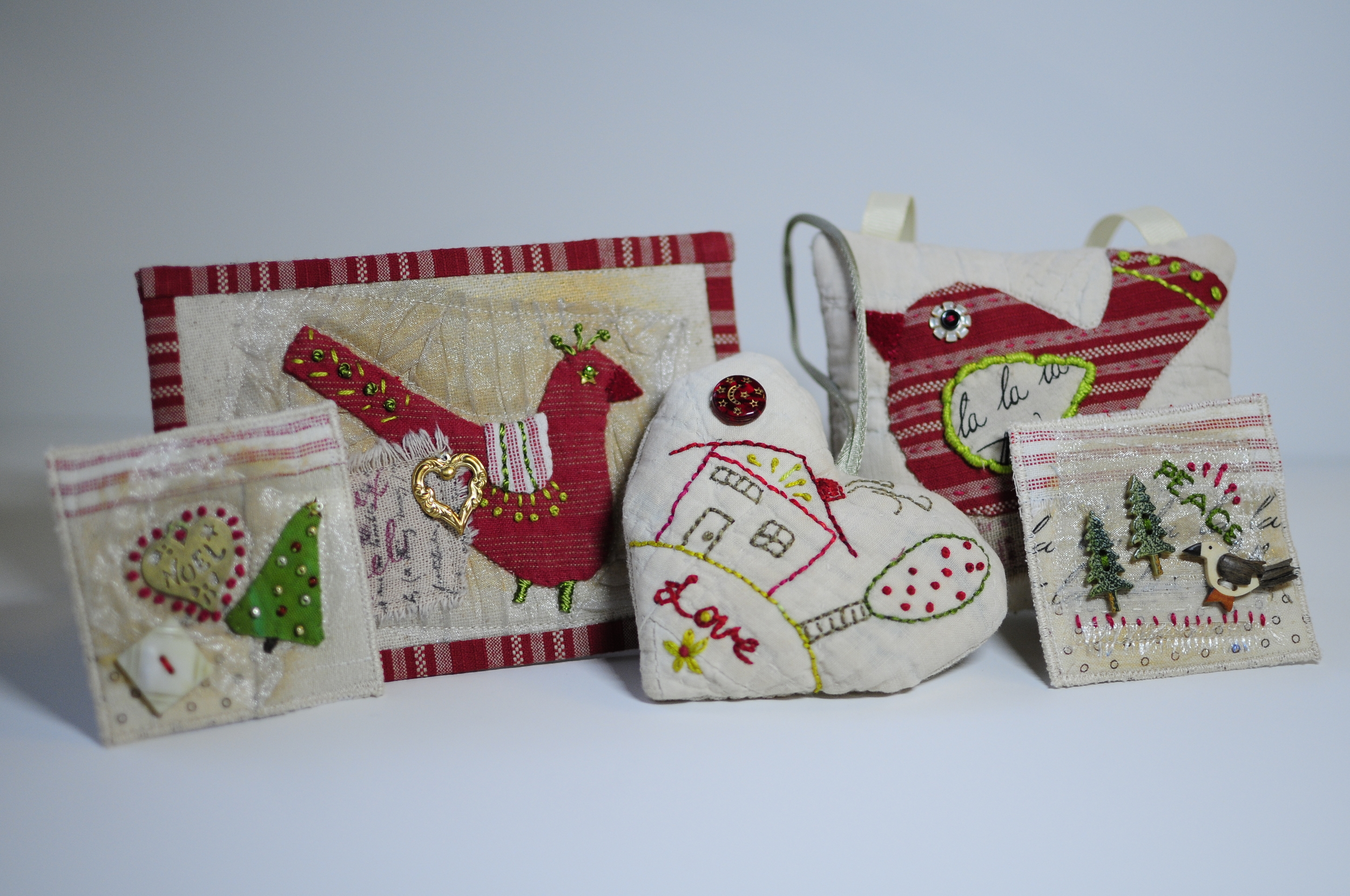 A Gathering of New Ornaments for 2013