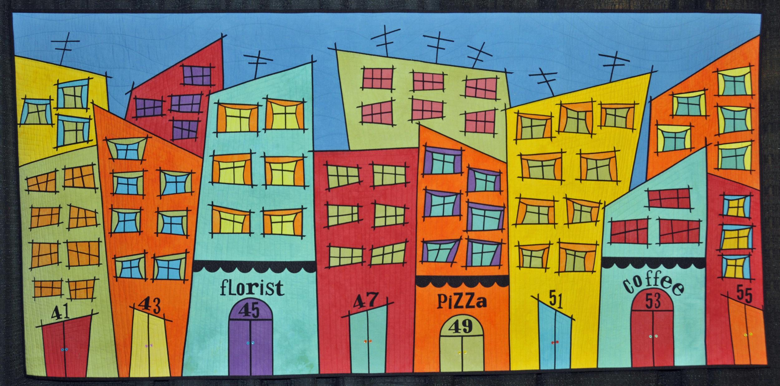 QKS 2014 Tutti Frutti Main Street by Susan Bleiweiss