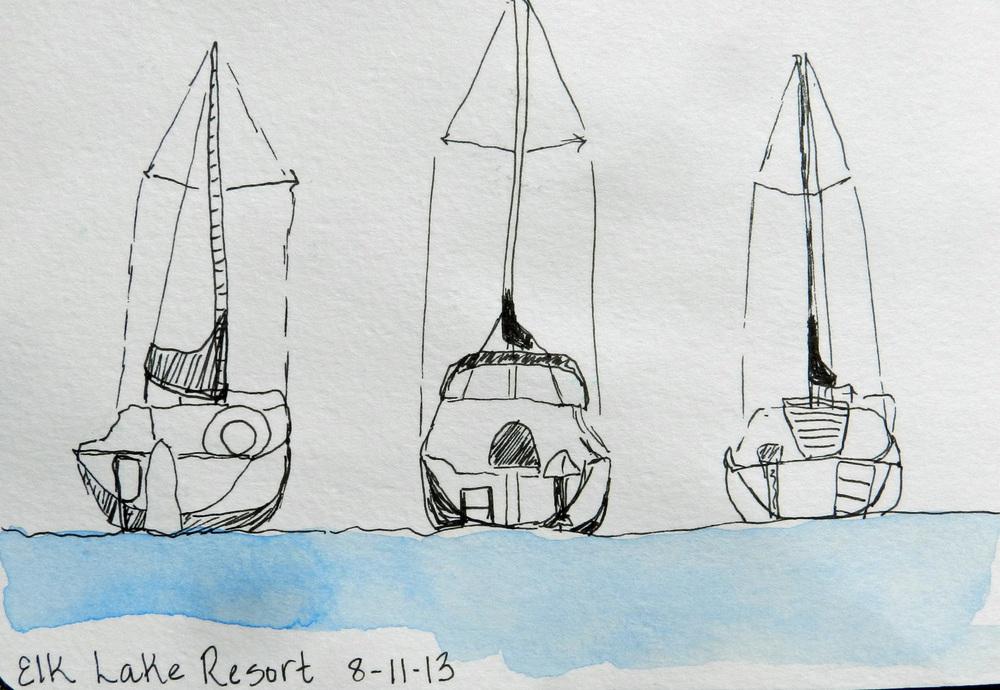 Older Journal Sketches (8)