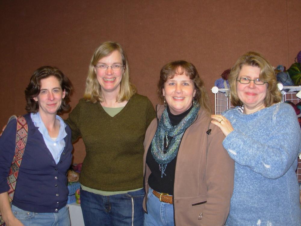 Ann, Ann, me and Kay
