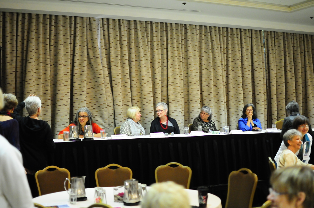 Local Artist Panel: Sidnee Snell, Jean Wells, Sheila Finzer, Bonnie Bucknam, Jeanette Di Nicolis Meyer
