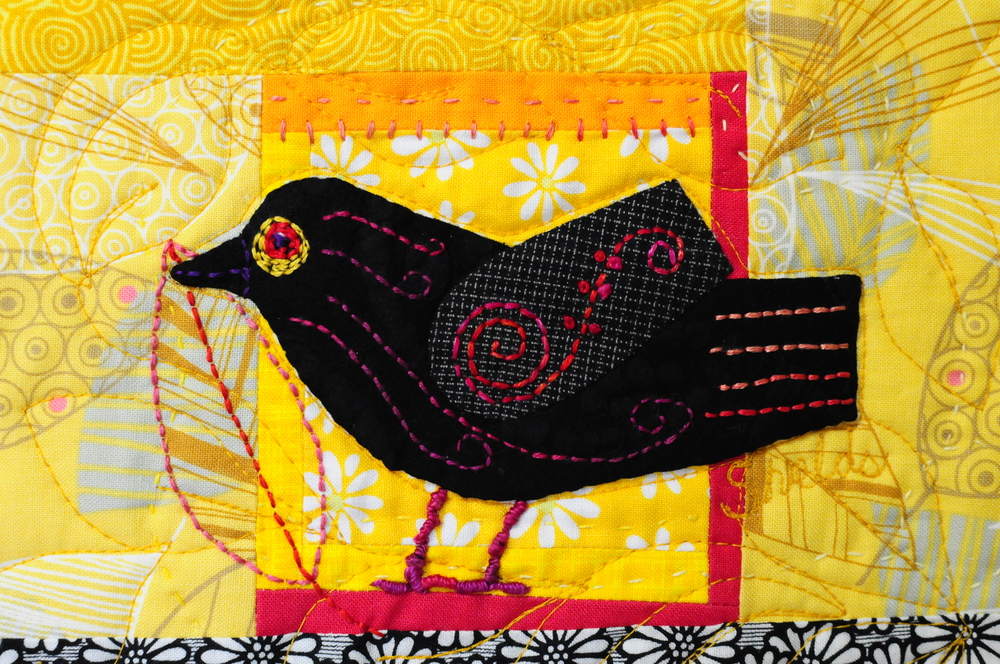 Fanciful Blackbird by me for the Spotlight Auction