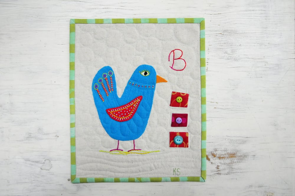 B is for Birds, Buttons and Bubbles