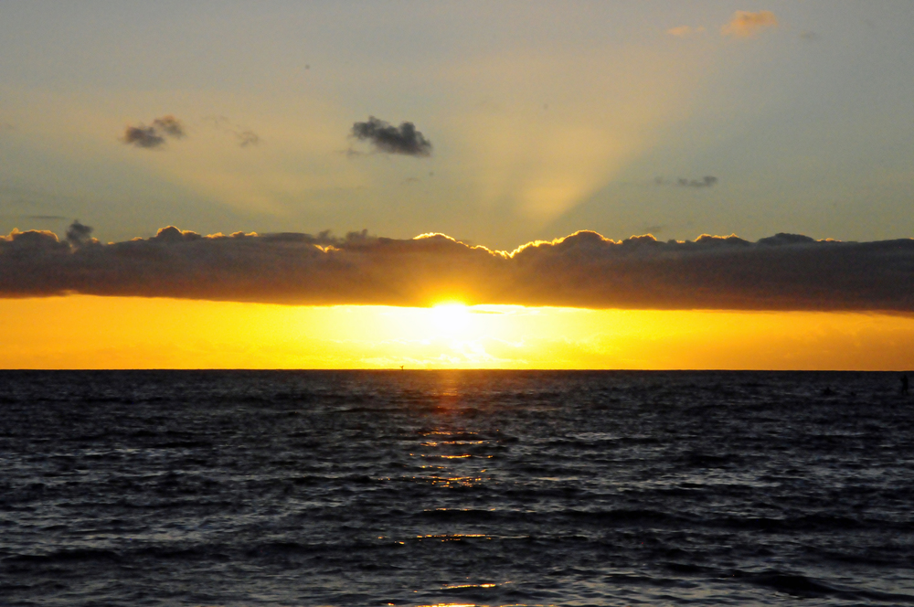Sunset from Poipu Beach
