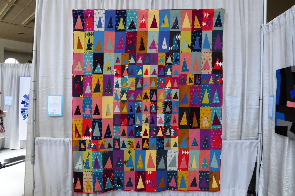 Handcrafted Triangles by Jennifer Johnston