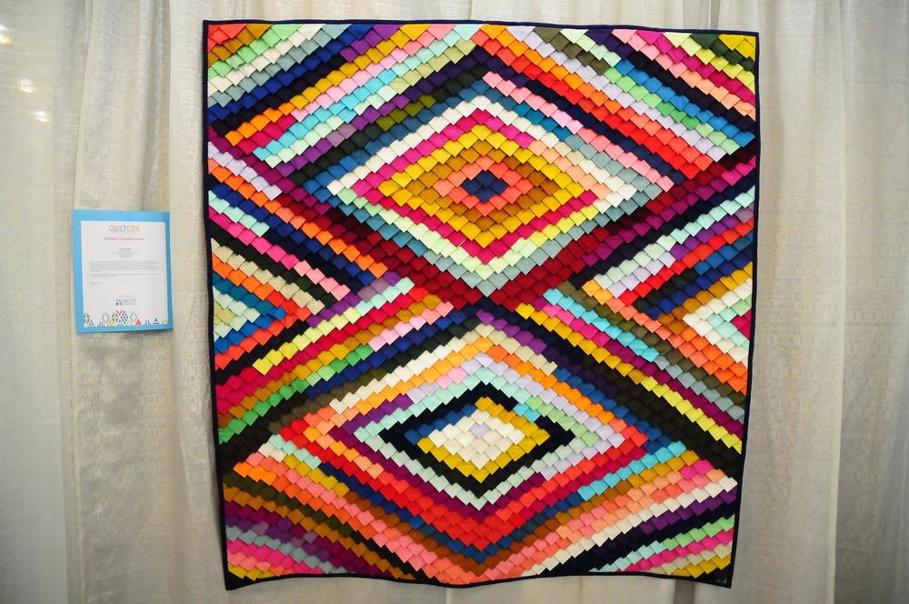 Pine Burr Quilt by Tara Faughnan