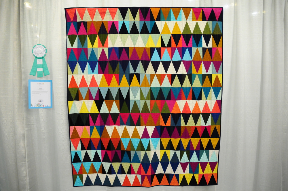 Diamonds Quilt #2 by Tara Faughnan