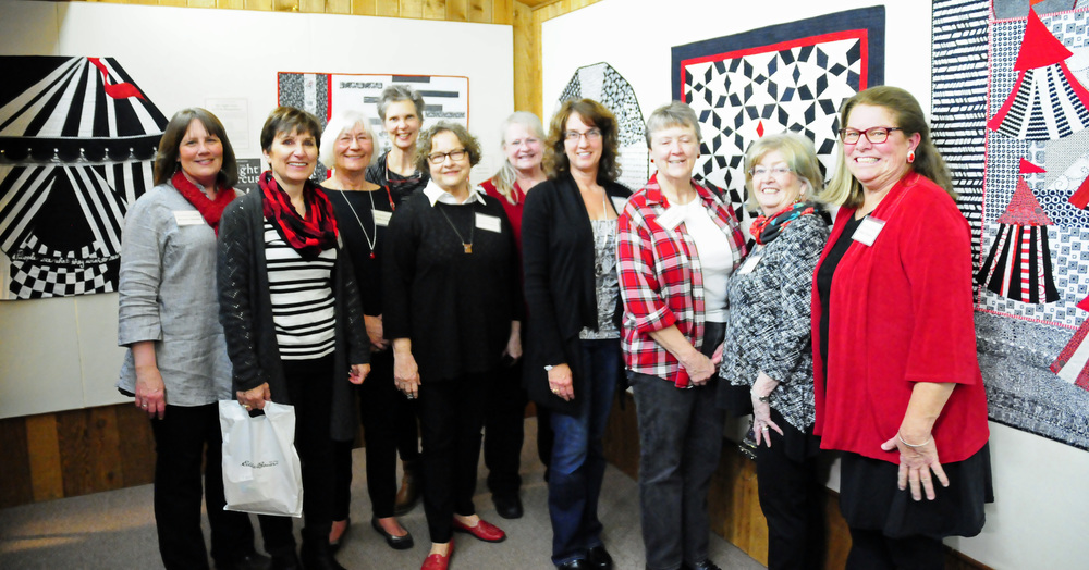 The Undercover Quilters and Marilyn of QuiltWorks