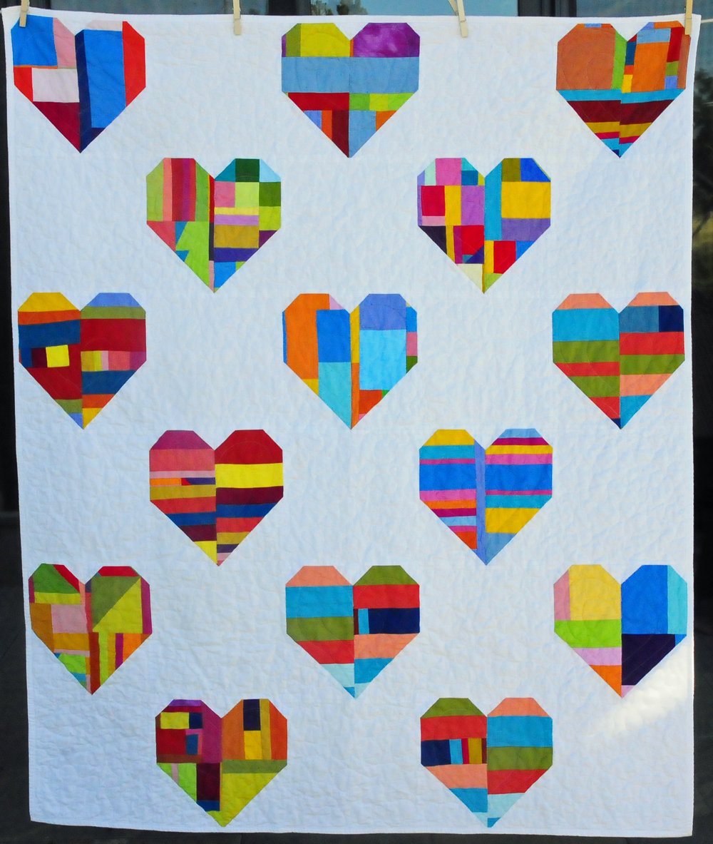 "Quilt for Pulse 50"" x 60"""