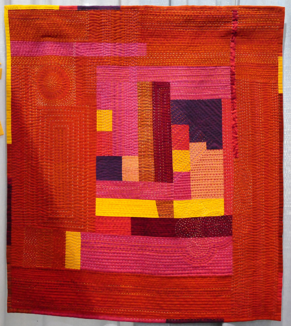 Trust Your Gut by Marilyn Butler ( @marilynkb1 ), Third Place in Handwork
