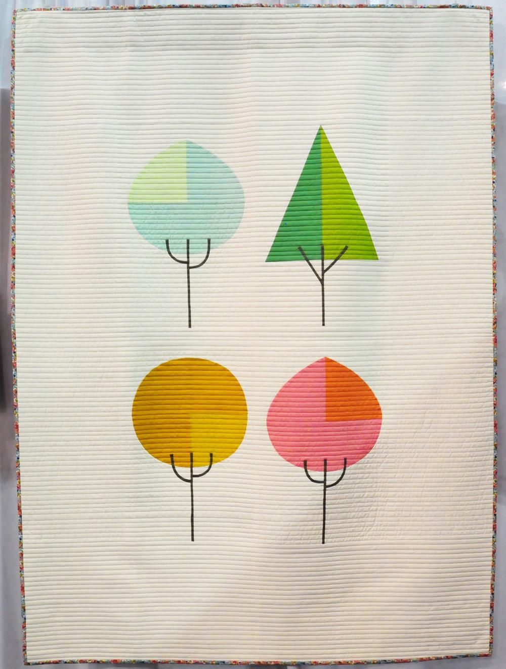 Die Beem (Trees) by Lindsey Neill (@penandpaperpatterns)