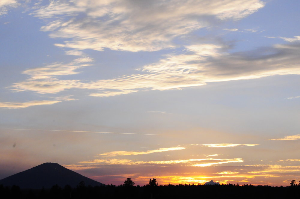 Black Butte sunset