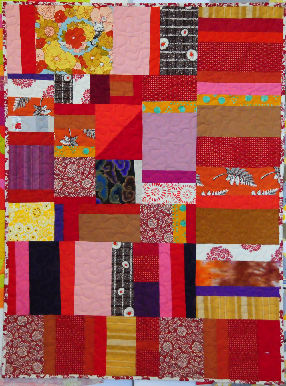 baby size community quilt