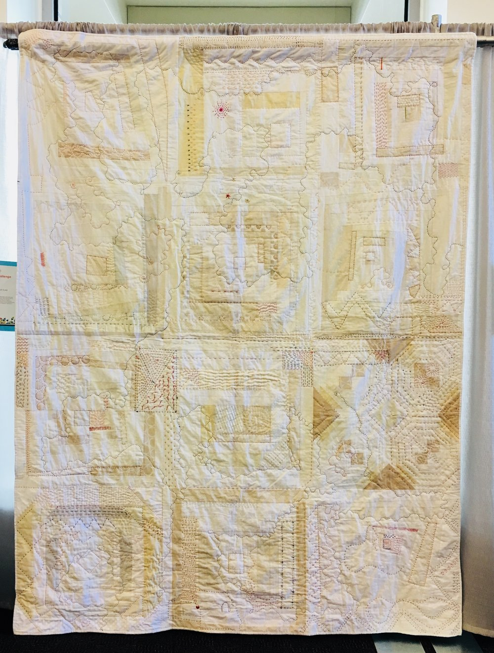 One More Block by the Kansas City MQG (Charity Quilts)