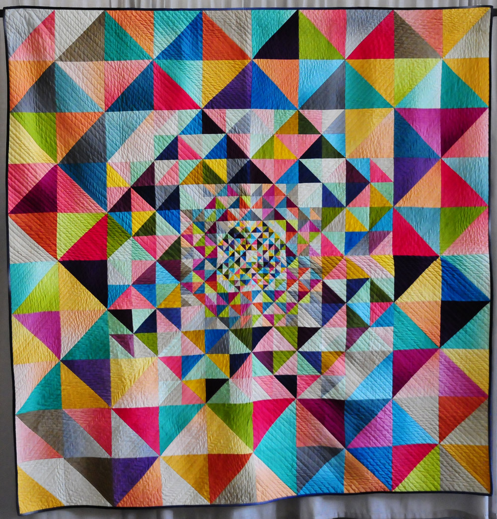 Singularity by Jenn Nevitt (MQG's 2017 Quilts of the Month)