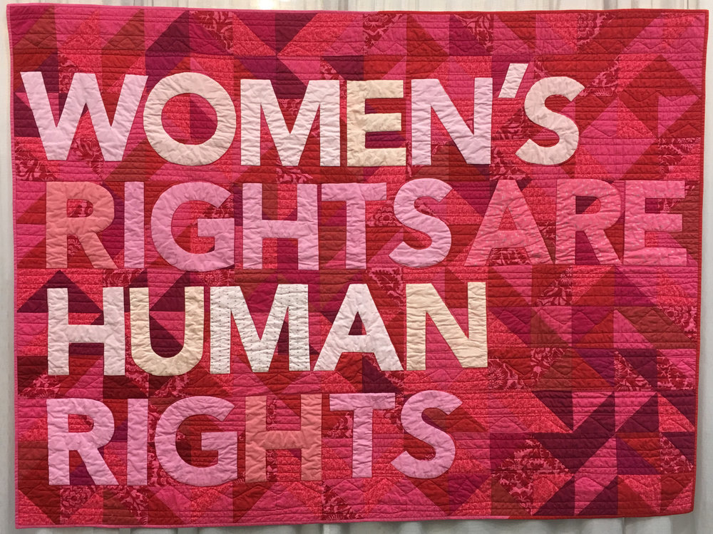 Feminist Quilt by Darci Read (Applique)