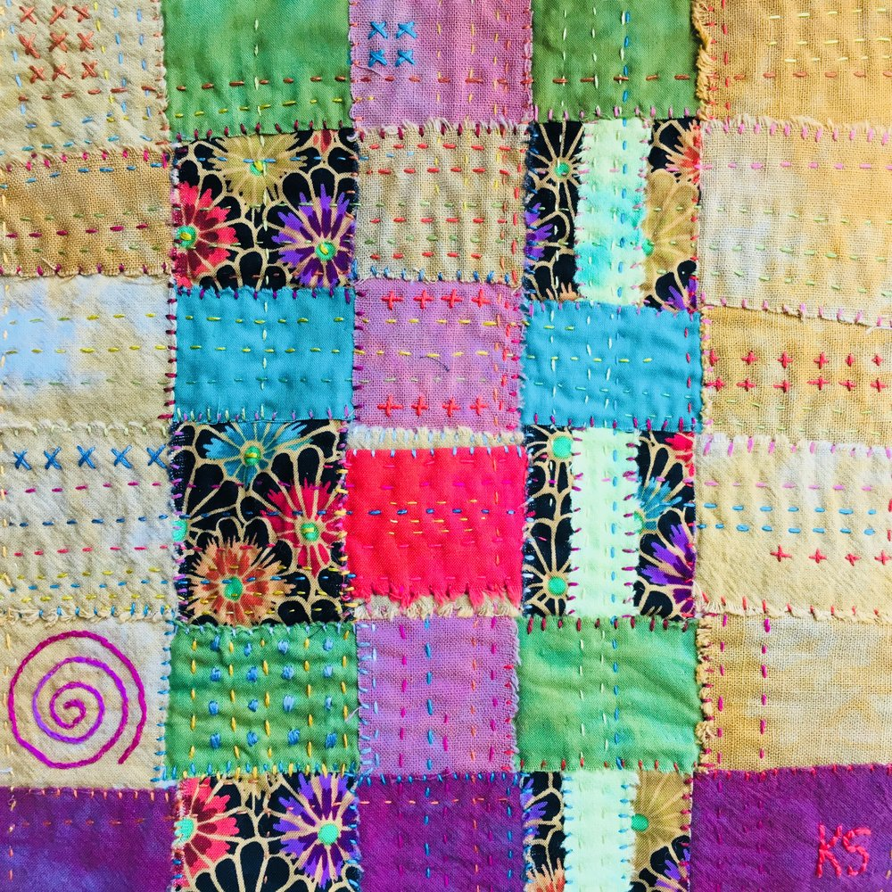 Cloth Weaving Sampler