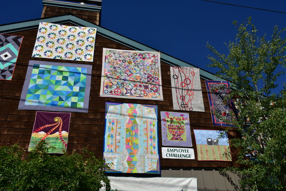 Stitchin' Post Employee Challenge Quilts