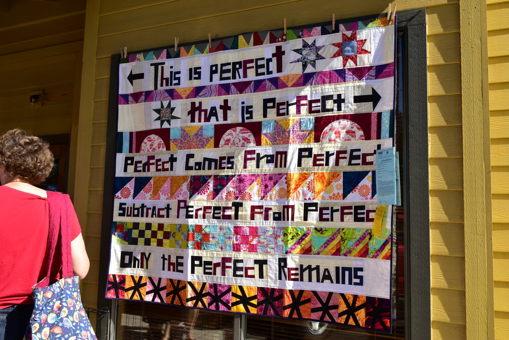 Words Unbound by the Portland Modern Quilt Guild