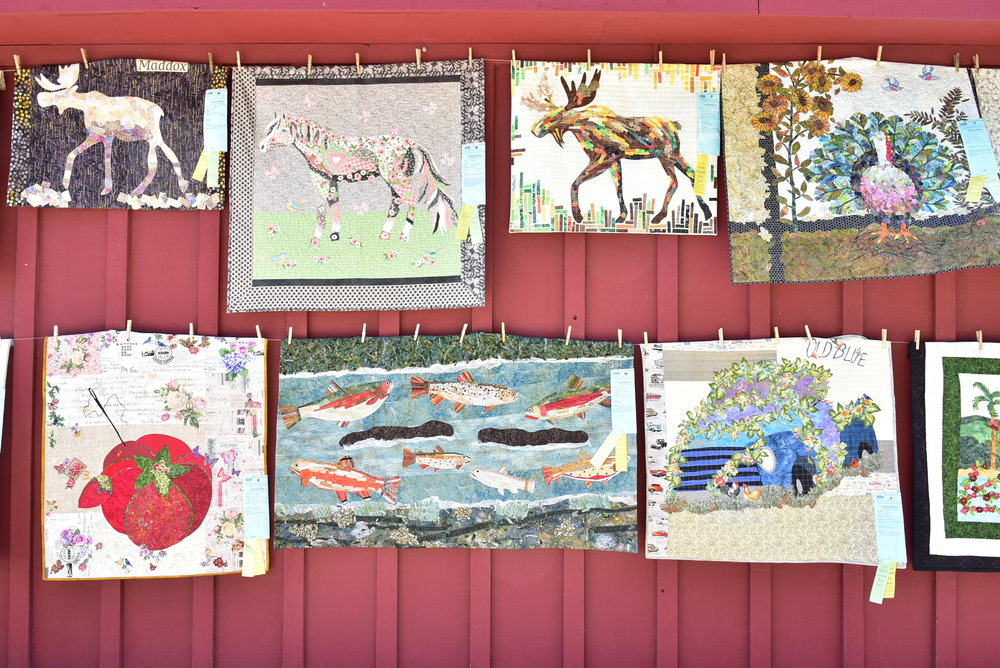 East of the Cascade Quilters Collage Quilts