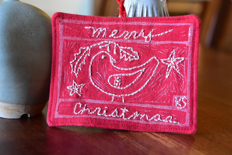New In Shop :: Block Printed Ornaments — Kristin Shields
