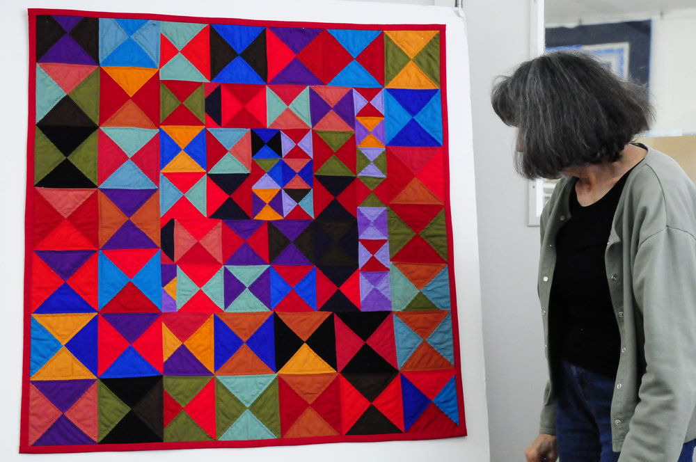 2016 Abstract Quilts in Solids