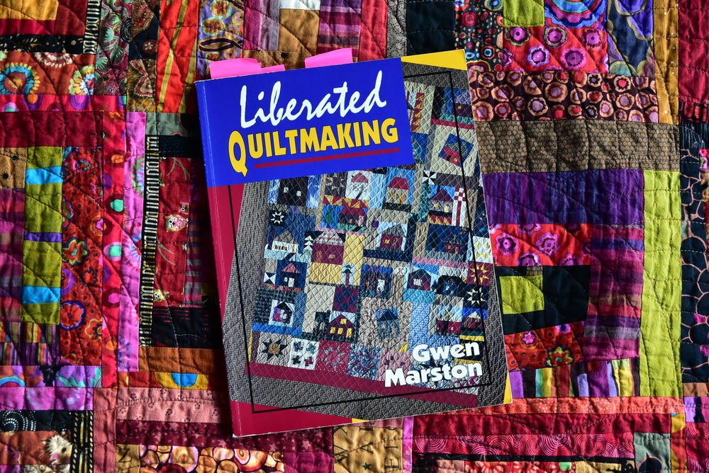 The original Liberated Quiltmaking book