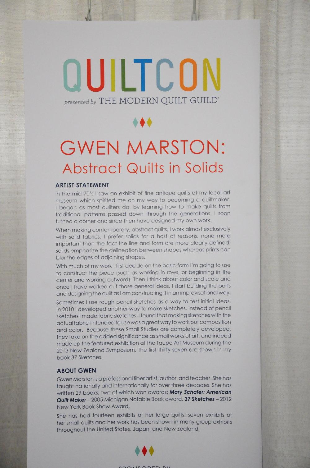 2016 QuiltCon Pasadena