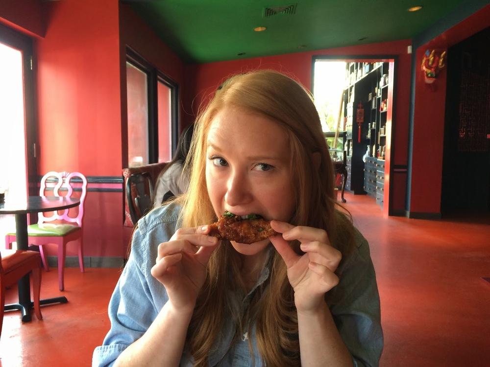 As a San Antonio resident, Danielle's arteries were better prepared than mine.