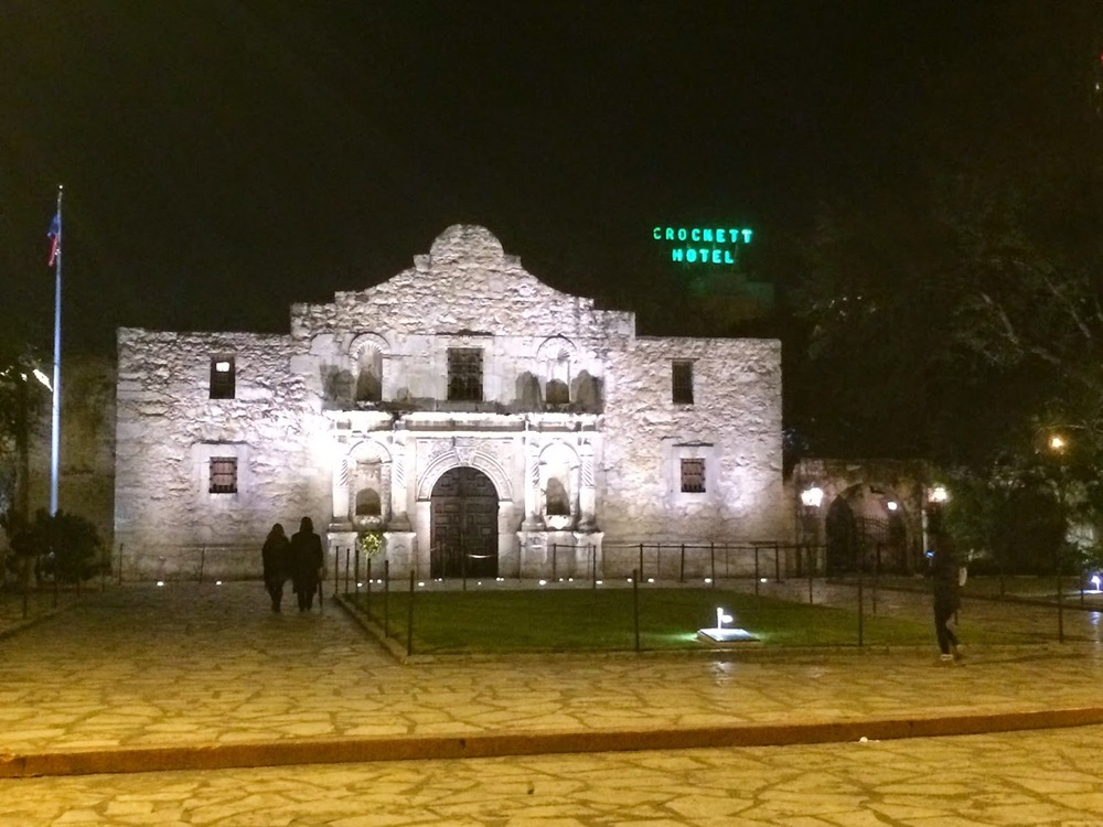 Remember the Alamo, but forget the Guinness World Records and Ripley's Believe It Or Not museums across the street.