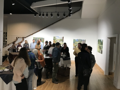 New Landscape Paintings Lynchburg Academy Center of the Arts    Up-Front Gallery   On view December 2017 https://academycenter.org/gallery/the-up-front-gallery/ The Academy is located at 600 Main Street, Lynchburg, VA