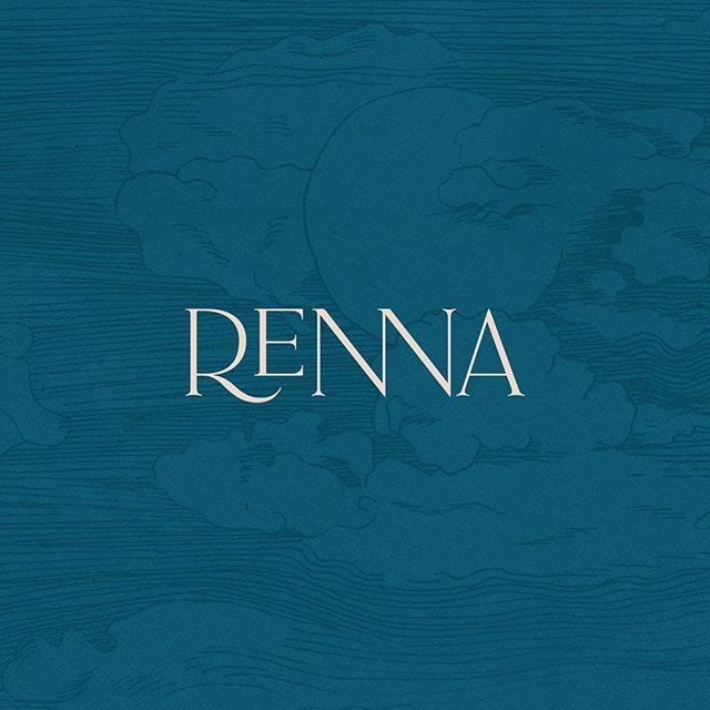 Sneak peak of a custom wordmark for a dreamy client. Inspired by the sea and sky. Full case study coming soon ✔️