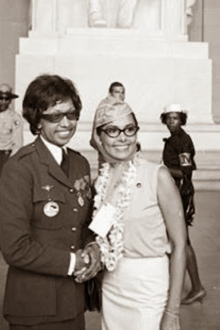 Josephine Baker with Lena Horne at The March on Washington