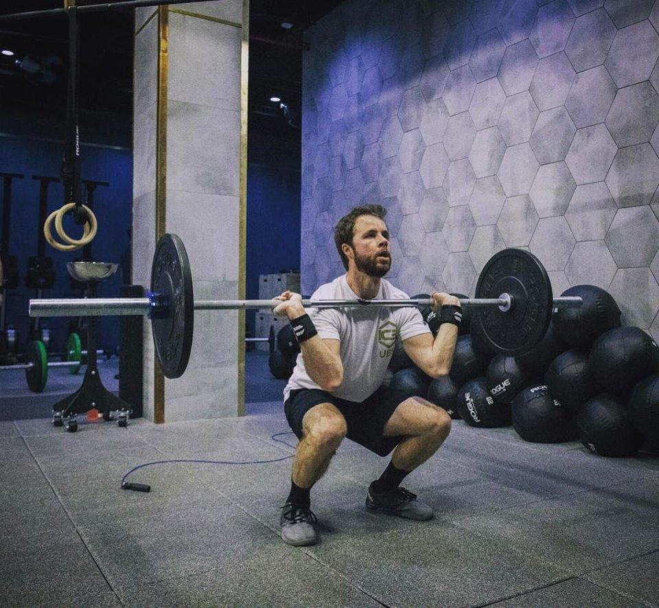 Me getting my fitness on. | Photo:  Marts Romero