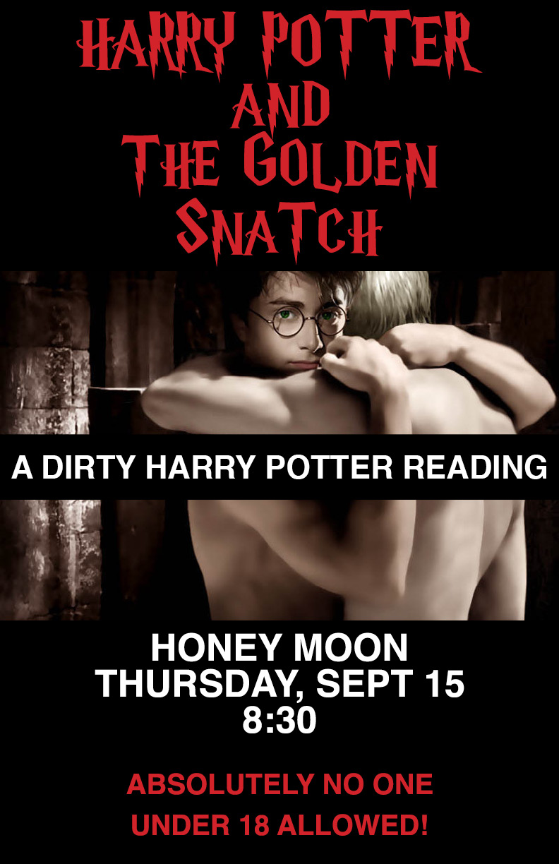 Harry Potter And The Golden Snatch A Dirty Harry Potter Reading Honey Moon