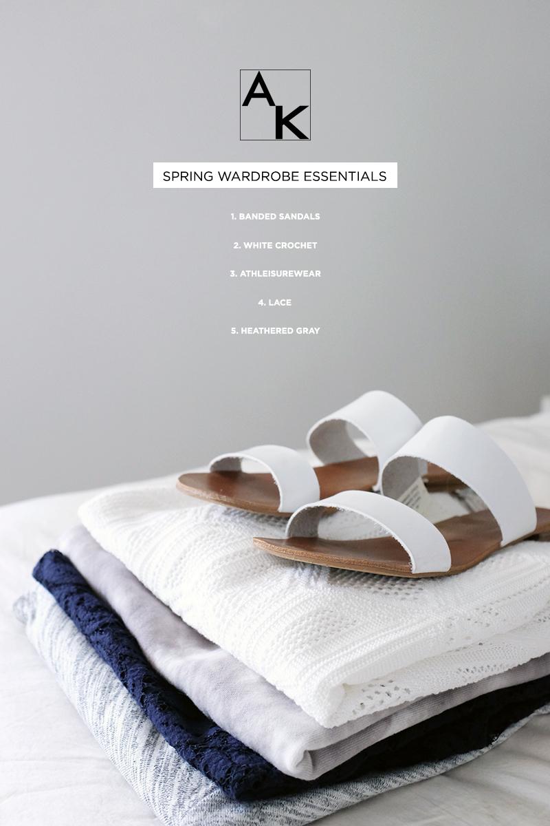 spring fashion essentials