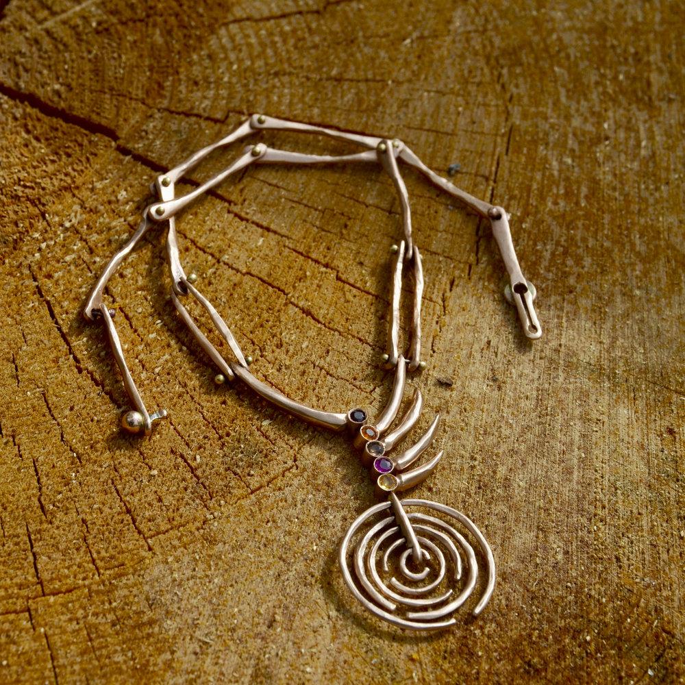 orbital rose gold pine needle cuff.jpg