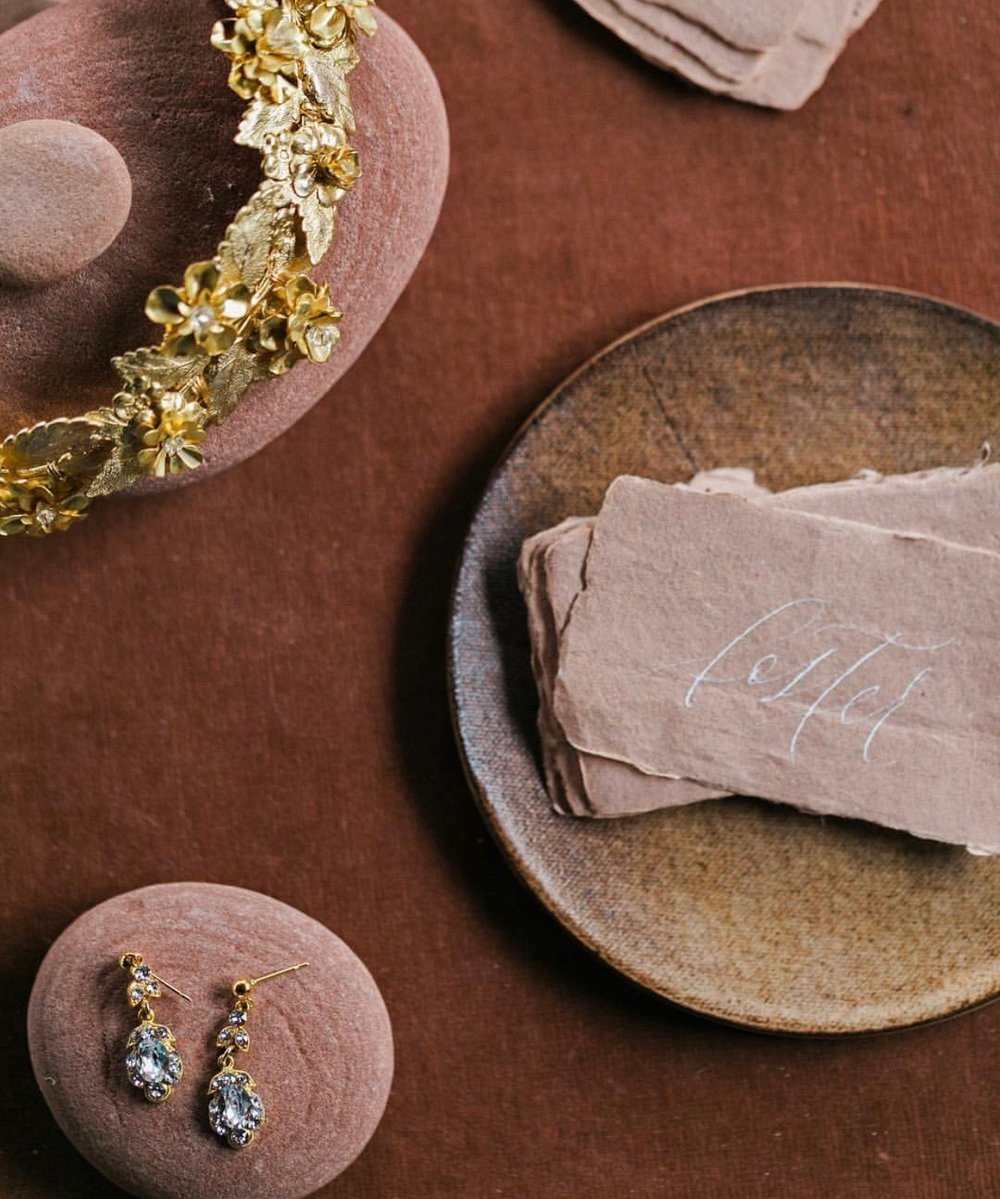 Source:  Styling Surface ,  Jewelry ,  Paper ,  Calligraphy ,  Ceramic Dish