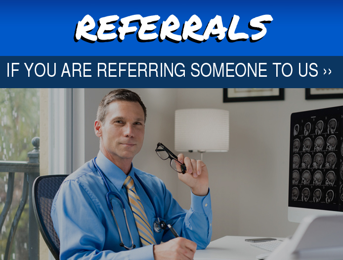 Referrals Button