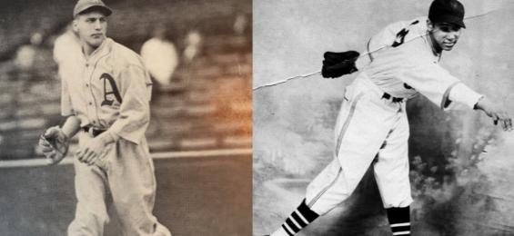 Pete Naktenis,1936 Philadelphia Athletics |Johnny Taylor,1937 New York Cubans