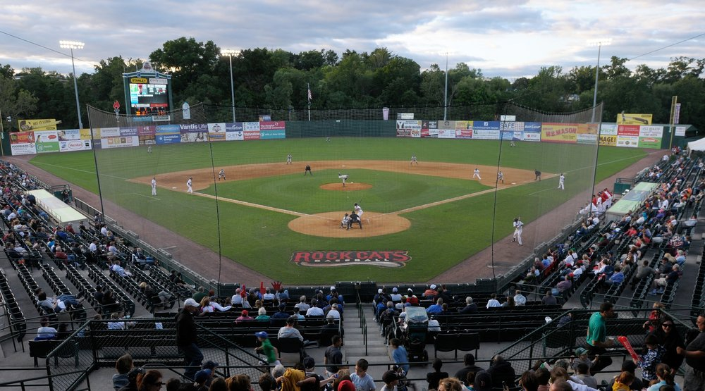 1997 - 2014New Britain Rock Cats - New Britain becomes the Double-A affiliate of the Minnesota Twins as part of the Eastern League.