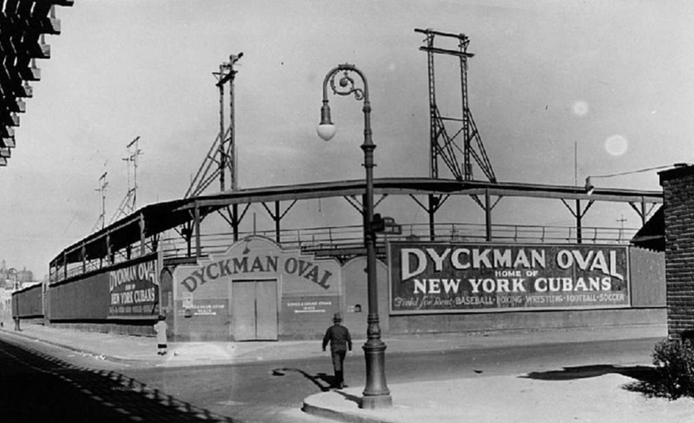 Dyckman Oval, Harlem, New York, 1935